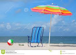 Flip Flop Chair Flip Flops Umbrella And Ball Royalty Free Stock Photos Image