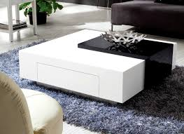 stunning black white coffee table for olympian sofas black white high gloss coffee