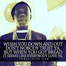 Lil Boosie Quotes Custom Lil Boosie Down And Out Quote Facebook Wall Pic FBWallPics