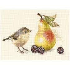Bird and an pear From Alisa - Alisa - Kits - Casa Cenina