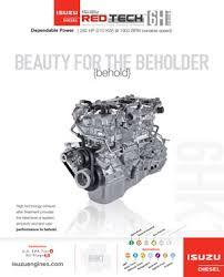 powertrain isuzu redtechacirc132cent 6h lit sheet