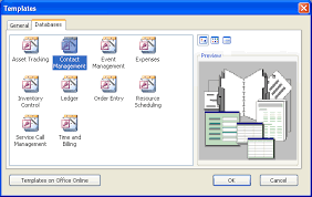 Access 2003: Using a Wizard to Create the Contact Management ...