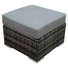 appealing outdoor wicker storage ottoman and fancy wicker ottoman cushion round wicker storage ottoman coffee