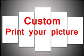 5 pieces set custom your own design or pictures wall art pictures for room decor on create your own canvas wall art with 5 pieces set custom your own design or pictures wall art pictures