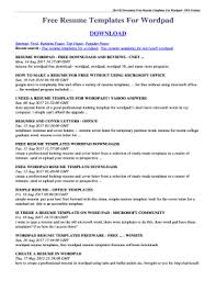 Fillable How To Make A Resume On Wordpad Edit Online Print