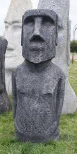 roundwood of mayfield blog garden statues easter island family expands
