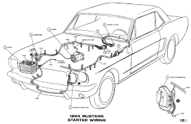 1964 mustang wiring diagram 1964 image wiring diagram car starter wiring diagram wiring diagram schematics on 1964 mustang wiring diagram