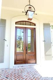 porch lighting ideas. Front Porch Lighting Ideas Door Design Entry With Arched French Style Doors A Lantern O