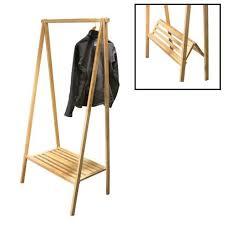 Collapsible Coat Rack Awesome Garment Rackbamboo To Live Pinterest Garment Racks Woods