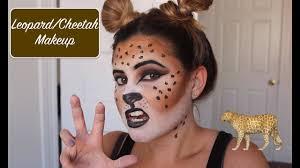 leopard cheetah makeup tutorial