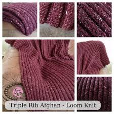 Loom Knitting Patterns Blanket Simple Ideas