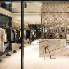 Booteek Designs The Space For Brown Booteek Kuwait Is Kept Mainly Clear
