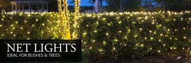 net lights yard envy