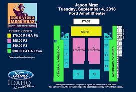 Events Jason Mraz Ford Idaho Center