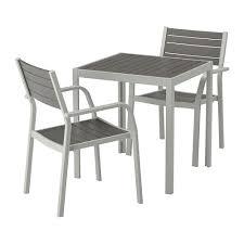 sjÄlland table 2 chairs w armrests outdoor