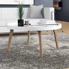 raised edge coffee table
