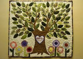 Best 25+ Family tree quilt ideas on Pinterest | DIY quilting ... & I made this Family Tree Quilt for my grandma's 95th birthday. :) Adamdwight.com