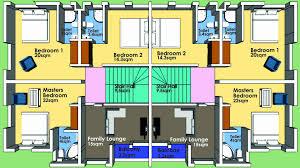 3 bedroom duplex house plans in nigeria new semi detached house plans nz bedroom pdf uk