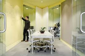colorful office space interior design. View In Gallery Using Office Walls To Share Ideas. Colorful Interiors Space Interior Design