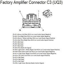 2011 chevy tahoe factory uk3 radio wiring diagram