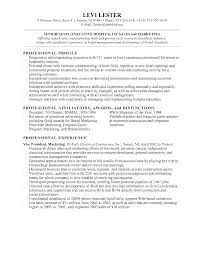 restaurant marketing manager resume sample com restaurant marketing manager resume sample