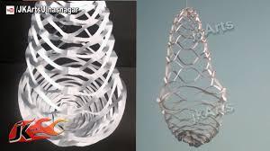 Paper Chandelier Diy Easy Paper Lantern Chandelier Decoration How To Make Jk