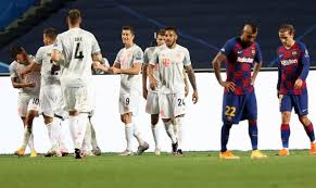 In all four cases, the team that had eliminated barcelona ultimately won the competition. Barca Fc Bayern 2 8 Die Noten Zum Spiel