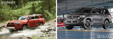 ... 2017 Toyota 4Runner Vs Sequoia Passenger And Cargo Space