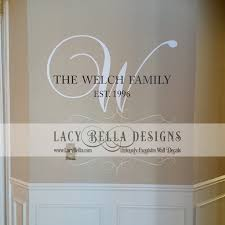 f website picture gallery monogram wall decal