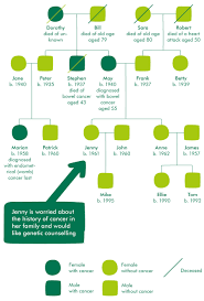 Genetic Family Tree Genetic Counselling Causes And Risk Factors Macmillan Cancer Support