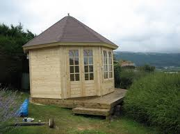 building a garden office. I.e. A Sloping Site Accessed Through The House Using Concrete With Bad Shuttering Inexperienced Labour And Poor Preparation Will Cost £A PACKET. Building Garden Office