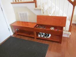 entryway bench shoe storage. Image Of: Cute Entry Bench With Shoe Storage Wood Entryway E