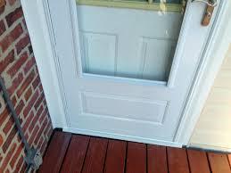 Backyards : Storm Door Install Page Windows Siding And Doors Img ...