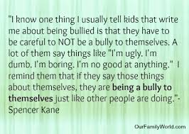 Quotes About Bullies Quotes and Thoughts About Bullying Our Family World 33