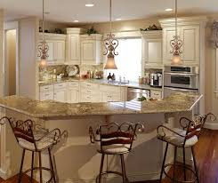 best country style lighting ideas with granite countertop