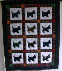 Sutured for a Living: Ashley's Scottie Dogs Quilt & I used an appliqué pattern from a magazine (have forgotten which one). Each  dog is from a different black fabric which is fused to the white background  and ... Adamdwight.com