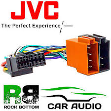 jvc kd s6060 model car radio stereo 16 pin wiring harness loom iso image is loading jvc kd s6060 model car radio stereo 16