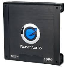 planet audio ac1500 1m class ab mono amplifier planet audio ac1500 1m 1500 watt anarchy class ab mono amplifier main