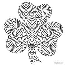 The shamrock template can also be used as a coloring page. Free Printable Shamrock Coloring Pages For Kids