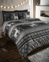 winter duvet covers. Contemporary Winter WinterStagFairIsle100BrushedCottonFlannelette Intended Winter Duvet Covers