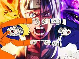 This could be the energy of Naruto and Sasuke if they might merge as in  Dragon Ball - Memes Random