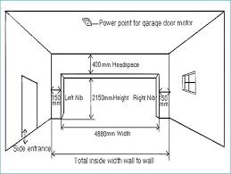 standard garage door sizes standard single car garage door measurements what is the best single car
