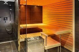 ... Bathroom Sauna Next to Shower ...