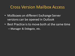 Upgrading From Exchange Server 2003 To Exchange Server 2010