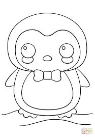 Disegno Di Pinguino Kawaii Da Colorare Disegni Da Colorare E Con