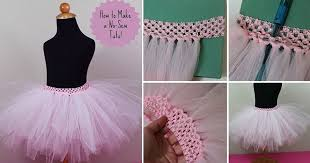 view in gallery no sew tutu