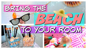 Small Picture DIY Summer ROOM DECOR 2016 BEACH Themed YouTube
