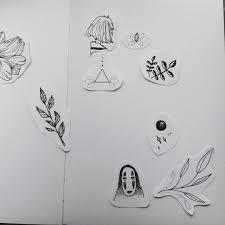 эскизы татуировок рисунки портфолио дарья опарина