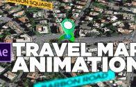 Animated Travel Map Animated Travel Map Route Generator For After Effects