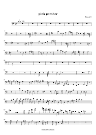 alto sax pink panther sheet music pink panther sheet music pink panther score hamienet com